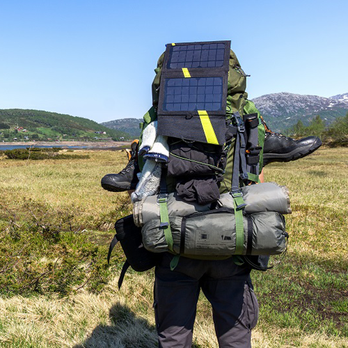 hiking solar charger