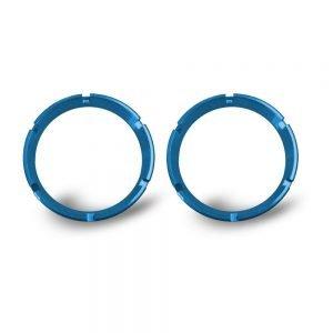 KC FLEX Bezels - Blue ED Coated (pair)