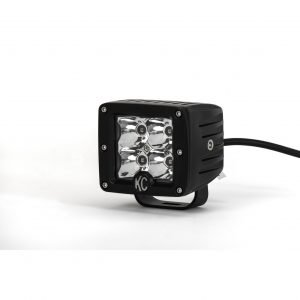 """3"""" C-Series C3 LED Spot with Amber LED Pair Pack System - #315"""