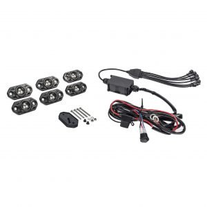 KC C-Series RGB LED Rock Light Kit - 6 PC - #339