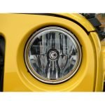 "Gravity LED 7"" Headlight for Jeep JK 2007-2018 Pair Pack - DOT Compliant"