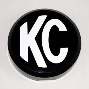 "6"" Plastic Cover - KC #5105 (Black with White KC Logo)"