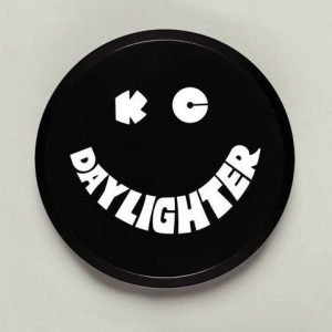 "6"" Plastic Cover - KC #5200 (Black with White KC Daylighter Logo)"