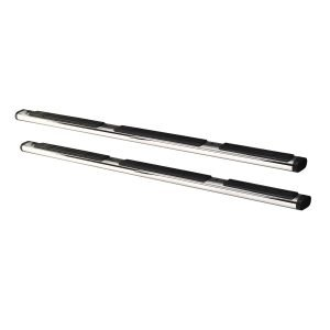Go Rhino - 660112PS - 6in OE Xtreme Wheel-to-Wheel SideSteps - 112in Long - Stainless Steel - Bars Only