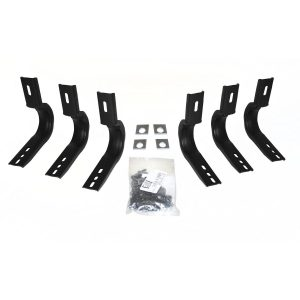 Go Rhino - 6840455 - Brackets for OE Xtreme Cab-Length SideSteps For Gasoline Vehicles (3 per side)