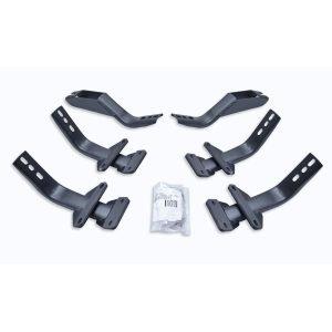 Go Rhino - 6841565 - Brackets for OE Xtreme Cab-Length SideSteps