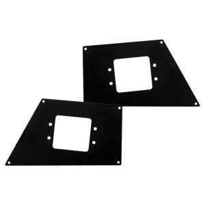 Go Rhino - 243881T - BR Front Light Plates (Flush Mount)
