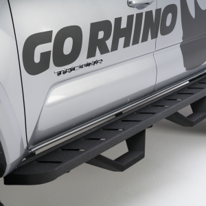 Go Rhino - 6344298720T - RB10 Running Boards & 2 Pairs of Drop Steps
