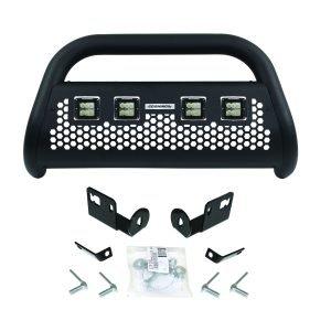 Go Rhino - 55144LT - RC2 LR Bull Bar with 4 Go Rhino Branded 3in Cube Lights & Brackets