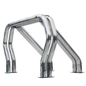 Go Rhino - 9009560DDC - Go Rhino! Bed Bars- Double Bar/Double Kicker (Between Wheel Wells)