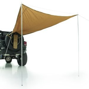 """Smittybilt GEAR TRAIL SHADE - 10' X 6' - FITS UP TO A 37"""" TIRE - COYOTE TAN UNIVERSAL 5662424"""