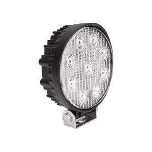 LED Work Utility Light Round 5 inch Flood w/3W Epistar