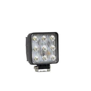 LED Work Utility Light Square 4.6 inch x 5.3 inch Flood w/3W Epistar