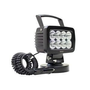 SM LED Work Utility Light 5.7 inch x 3.7 inch Flood w/5W Osram