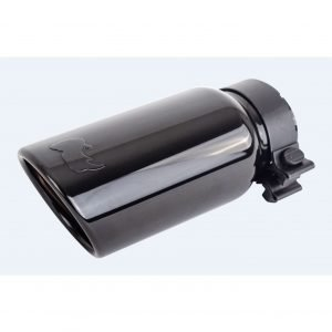 Black Chrome Powder Coated Stainless Steel Exhaust Tip