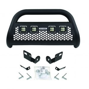 RC2 LR Bull Bar with 4 Go Rhino Branded 3 Cube Lights & Brackets