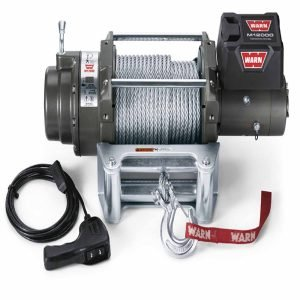 Warn 12 Volt 12000 LB Cap 125 Ft Wire Rope Winch