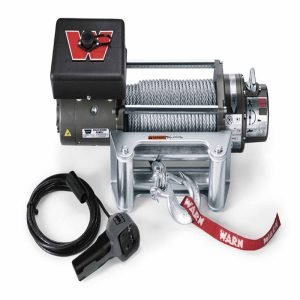 Warn Quick Connect Plug Connects to Battery Winch