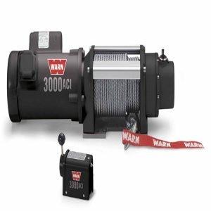 Warn Trailer Elect 4700 LB Cap 60 Ft Rope Winch