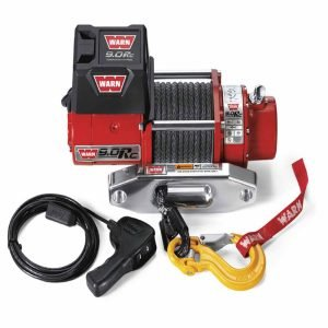 Warn Winches with 4000 LB Cap Black Winch