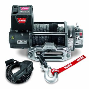 Warn DC Electric Industrial Winch 12 Ft Lead Winch