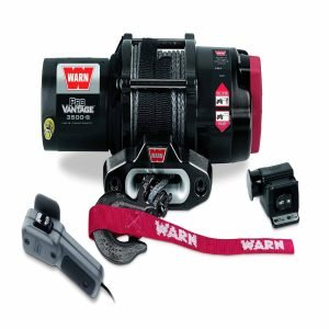 Warn Tall Black Without Skid Plate Winch