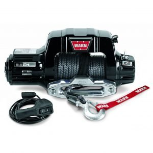 Warn Fixed Mount Black Winch