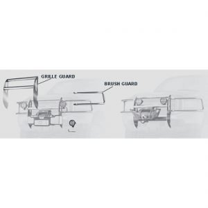 Warn Dash Rocker Switch Vantage 4000-S Winch Grille Guard
