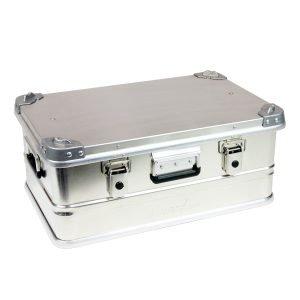 AluBox Aluminum Case Cargo Storage Box - 42 Liter