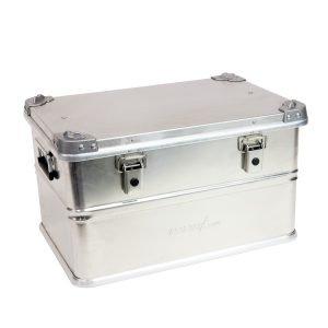 AluBox Aluminum Case Cargo Storage Box - 60 Liter