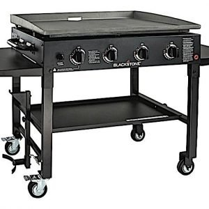 Blackstone 1554 36in Griddle Cooking Station In Classic Black
