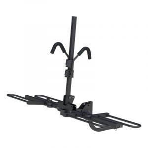 Curt 18085 Tray-style Hitch-mounted Bike Rack (2 Bikes 1-1/4in Or 2in Shank)