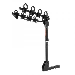 Curt 18030 Extendable Hitch-mounted Bike Rack (2 Or 4 Bikes 1-1/4in Or 2in Shank)