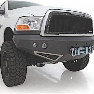Smittybilt 612800 Smittybilt M1 Truck Bumper - Front - Includes A Pair Of S4 Spot And Flood Lights Dodge, 06-09, Ram 2500/ 3500hd 612800