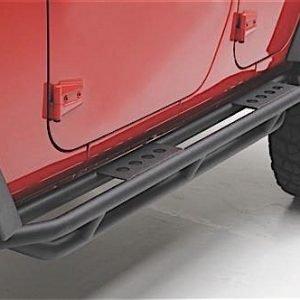 Smittybilt 76633 Smittybilt Src Side Armor - Black Textured Jeep, 07-18 Wrangler (Jk) - 2 Door 76633