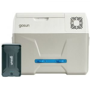 GoSun Chill Portable Wheeled Electric Cooler plus Power Pack