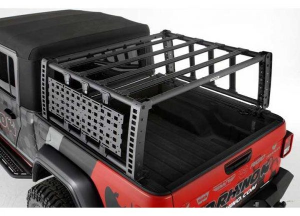 2021-current Jeep Gladiator Overland Bed Rack - Go Rhino 5950000t